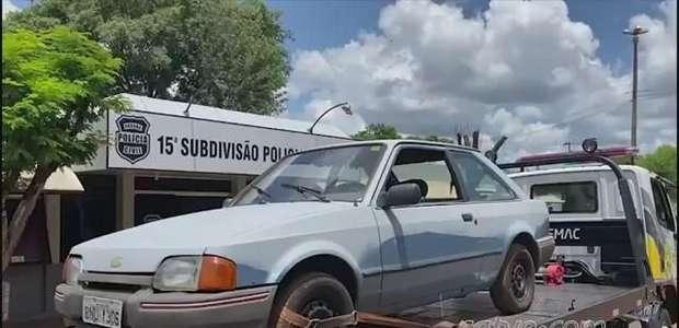 Polícia Militar recupera Escort no Bairro Interlagos