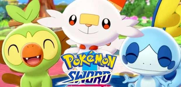 Pokémon Sword and Shield: a 1ª meia hora com Zangado