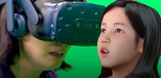 Isso é muito Black Mirror! Mãe reencontra filha morta em VR