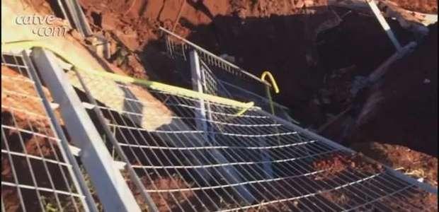 Trabalhador fica em estado grave após ser atingido por muro em obrac