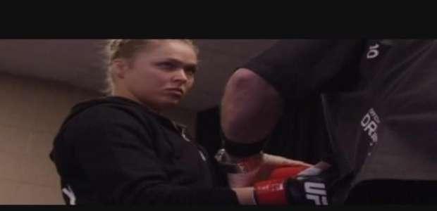 Ronda Rousey en un evento histórico único