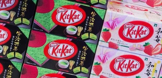 Los japoneses aman tanto el Kit Kat que tienen 200 sabores diferentes