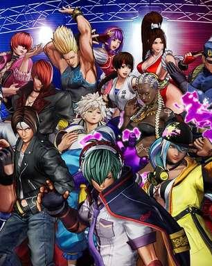 The King of Fighters XV terá 39 lutadores no lançamento