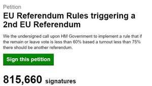 Más de un millón de firmas para que se repita el ...