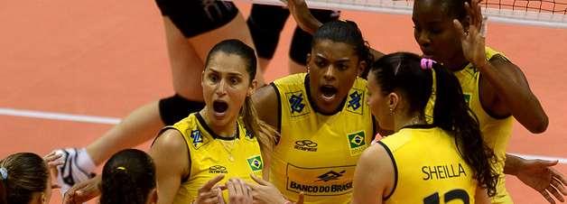 Brasil vence anfitrião Japão e lidera fase final do Grand Prix de vôlei