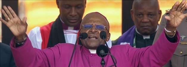 Casa de Desmond Tutu é roubada durante homenagem a Mandela