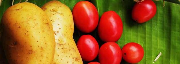 Com tomate e batata, receitas caseiras suavizam as olheiras