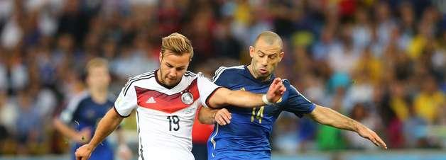 Saiba 9 razões para ver revanche entre Alemanha e Argentina