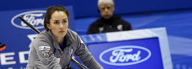 Veja fotos do Mundial Feminino de Curling
