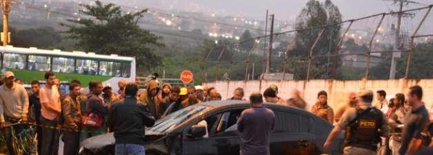 vc repórter: homem é baleado e morto dentro de carro na BA