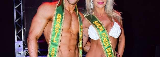 Famosas são juradas de concurso fitness em São Paulo