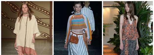 De quimonos a pijamas, veja 10 tendências da semana de moda