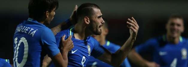 Com um a mais, Brasil bate o Equador no Sul-Americano Sub-20