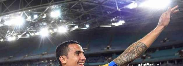 Com Tim Cahill, Austrália divulga pré-lista para a Copa