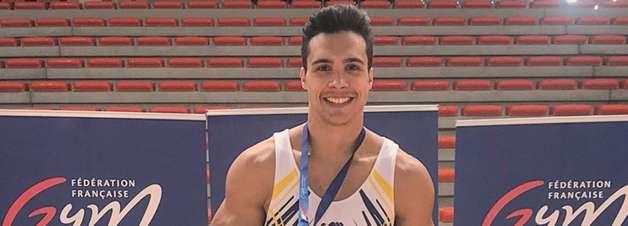Após denunciar abuso, ginasta brasileiro é campeão na França