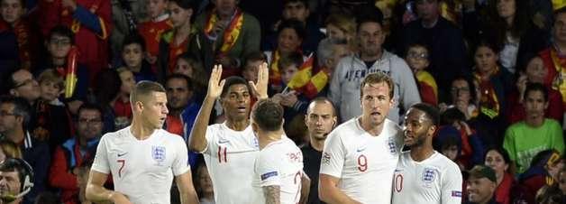 Inglaterra bate a Espanha e embola grupo da Liga das Nações