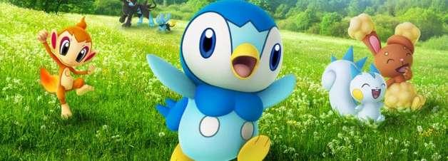 Pokémon Originários já estão aparecendo na região de Sinnoh