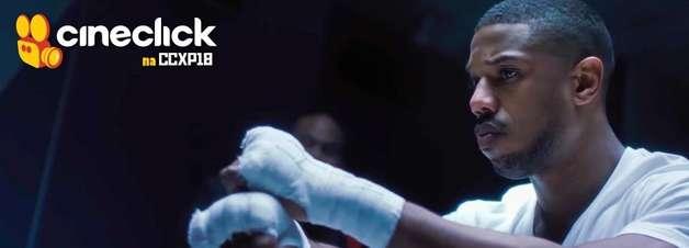 CCXP18: Elenco de Creed II leva fãs à loucura neste domingo