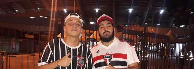 Amigos esquecem rivalidade de clubes e se unem pra ver Chile