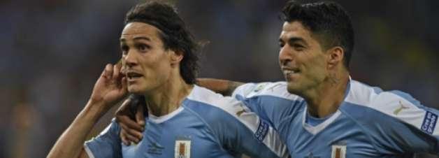 Uruguai vence o Chile e fica com primeiro lugar do Grupo C