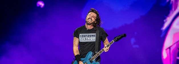 Foo Fighters fecha segundo dia de Rock in Rio
