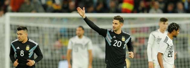 Alemanha abre 2 a 0, mas Argentina busca empate em amistoso
