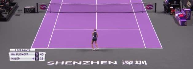 TÊNIS: WTA Finals: Pliskova derrota Halep (6-0, 2-6, 6-4)