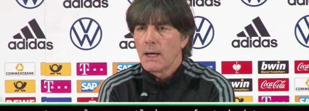 """FUTEBOL: Eliminatórias Euro 2020: Low: """"A Alemanha não é favorita"""""""