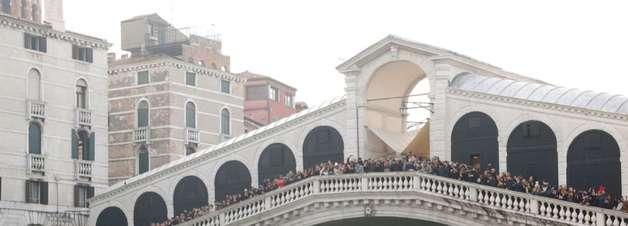 Nível da água em Veneza pode subir mais de 1 metro até 2100