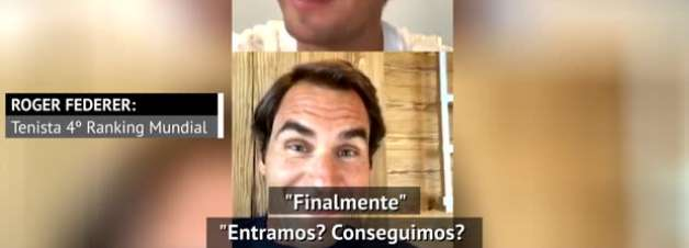 Bate-papo! Nadal, Federer e Murray conversam 'online' sobre a quarentena