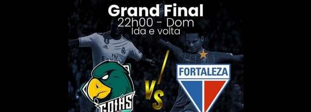Fortaleza e Goiás disputam final de torneio Fifa 11vs11 neste domingo