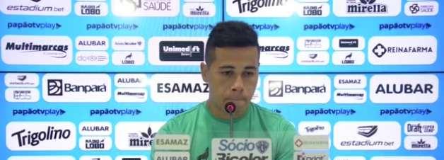 """PAYSANDU: Bruno Collaço lamenta não ter conquistado o acesso para Série B, mas 'vira chave' para disputa da Copa Verde: """"Uma competição importante que a gente quer ganhar"""""""