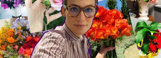 Alvo de bolsonaristas, Renata Vasconcellos reage com flores