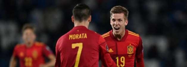 Espanha marca nos acréscimos e bate Geórgia de virada