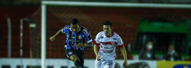 Grêmio empata com o São Luiz por 2 a 2 no Campeonato Gaúcho