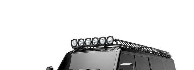 Ford Bronco 6×6 virá em 2022 e custará US$ 399.000