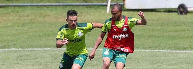 Gabriel Veron e Lucas Lima seguem tratamento de lesões e Palmeiras treina na manhã do Choque-Rei