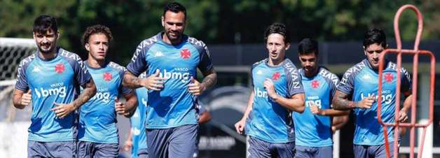 Vasco marca a reapresentação do elenco do Vasco para quarta-feira
