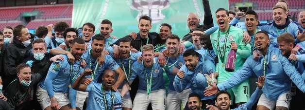 Manchester City conquista o tetra da Copa da Liga Inglesa
