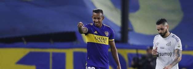 Santos começa bem, mas falha e perde para o Boca Juniors