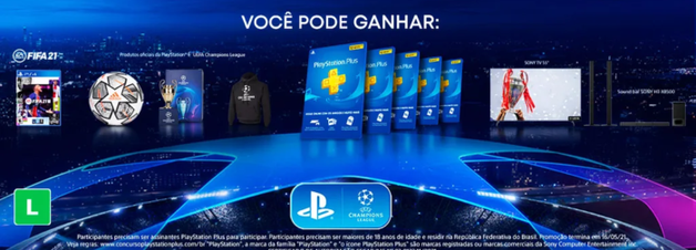 PlayStation dará cinco anos de PS Plus e TV da Sony em concurso no Brasil