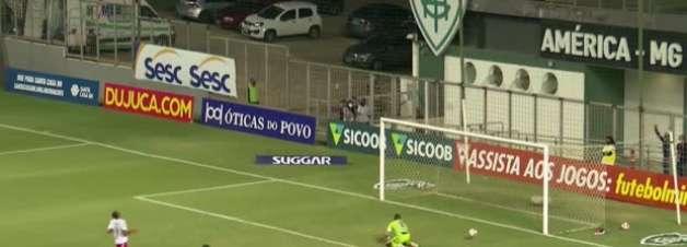 MINEIRO: Golaço! Hulk acerta bomba do meio da rua e marca belo gol na vitória contra o Tombense