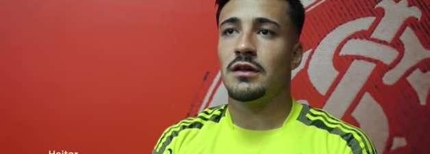 """INTERNACIONAL: Heitor projeta duelo contra o Juventude pela semifinal do Gaúcho: """"Sabemos que vai ser difícil, mas vamos jogar pela vitória"""""""