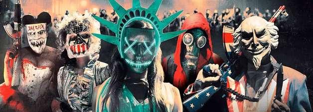 Cidadãos não aceitam fim do dia do expurgo em novo trailer de Uma Noite de Crime 5 - A Fronteira