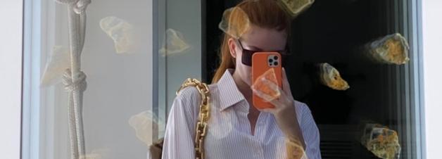 Marina Ruy Barbosa cria truques fashion em camisa branca