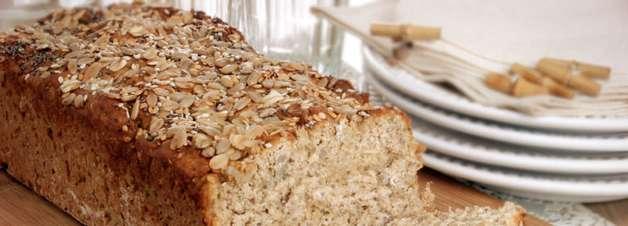 Receita de pão integral multigrãos