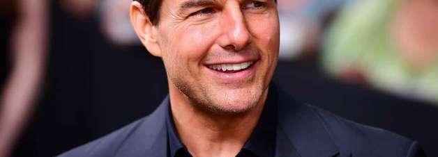 Ansioso com sua sequência, Tom Cruise fez uma homenagem a Top Gun