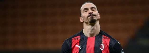 Liga: lesionado, Ibrahimovic desfalca Milan contra Liverpool