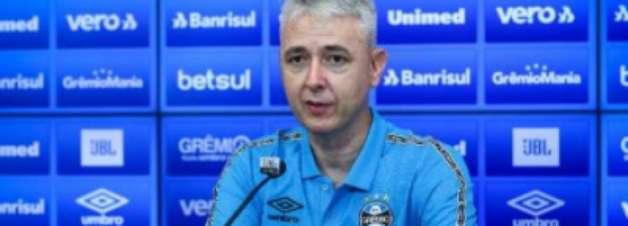 Pela consolidação, Tiago Nunes ganha título e tempo para trabalhar no Grêmio