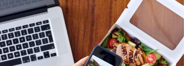Aplicativos mudam a relação das pessoas com a comida